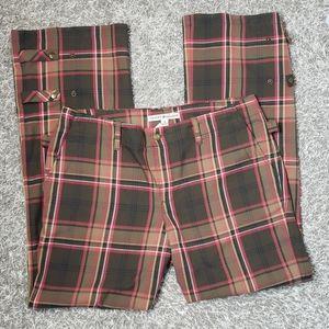 Retro Wide Leg Tommy Hilfiger Plaid Pants